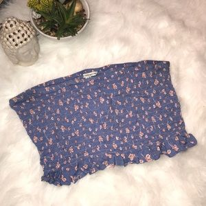 American Eagle Outfitters Floral Tube Top